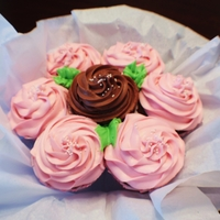 Cupcake Bouquet Not only visually delicious....