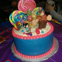 Wreck It Ralph Cake For My Daughters 6Th Birthday Wreck It Ralph cake for my daughter's 6th birthday.