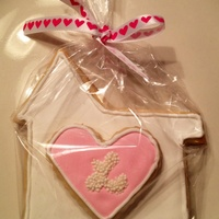 Home Is Where The Heart Is. Welcome To Your New Home! Home is where the heart is. Stacked royal icing cookies.