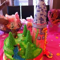 "Rapunzel ""tangled"" Birthday Cake"