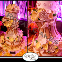 Victorian Bliss Bridal Shower Cake Wwwroyalcakeslacom   Victorian Bliss Bridal Shower Cake!www.RoyalCakesLA.com