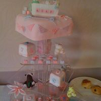 Girls Christening Cake Girls Christening cake