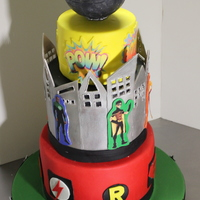 Young Justice Cake Young Justice Cake