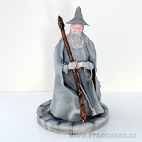Gandalf Lord Of The Rings Cake