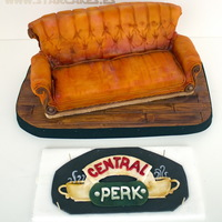Friends' Sofa Cake