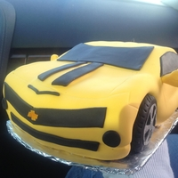 My Camero My first time carving a cake. It wasnt as bad as I thought! This cake is one of many for a dealership grand opening - cake for nearly 500...