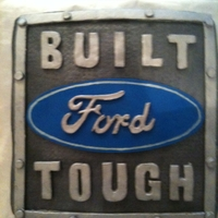 Ford this was for a friends husband...obviously a ford lover:)