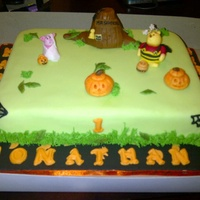 Five Headed Dragon Cake   Halloween Winnie the poo Birthday cake