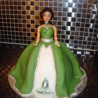 My 3D Celtic Doll Cake   My 3D Celtic doll cake
