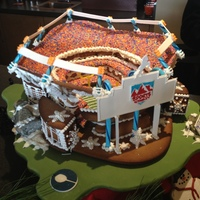 2012 Broncos Gingerbread Stadium 2012 Broncos Gingerbread Stadium