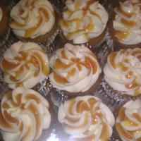 Caramel Cake With Vanilla Buttercream And Caramel Drizzle   Caramel Cake with vanilla buttercream and Caramel drizzle