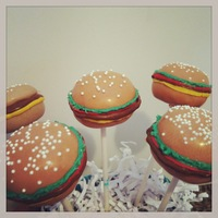 Cheeseburger Cake Pops   Cheeseburger Cake Pops