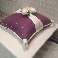 Engagement Pillow Cake
