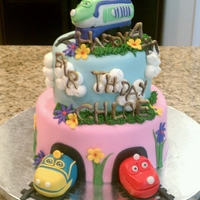 Chuggington Train Cake