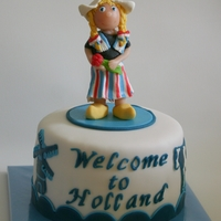Welcome In Holland For a friend who is visiting from the USA, she is staying with my son and his girlfriend.