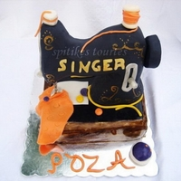 Singer Sewing Machine 100% edible.TFL