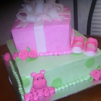 Pink Hippo Baby Shower