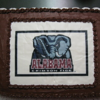 Alabama Chocolate Grooms Cake W Matching Cupcakes Alabama Chocolate Grooms Cake w/ matching cupcakes