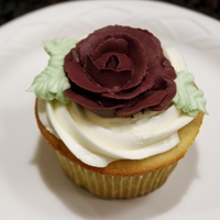 Vanilla Bean Rose Cupcake A first try with a new brand of cake mix (Sweet Dreams from BJs), these vanilla bean cupcakes were a hit. I used the box mix for both the...