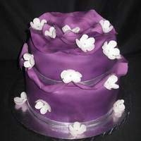 Purple Wave Cake