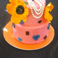 Jewelry Theme Baby Shower Cake
