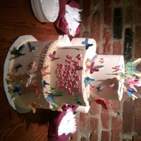 Butterfly Cake For A 40Th Birthday I Put 40 Hand Painted Butterflies Made From Mexican Paste On The Cake The Butterflies Took A Very Lon Butterfly cake for a 40th birthday. I put 40 hand-painted butterflies made from Mexican paste on the cake. The butterflies took a very long...