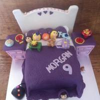 Sleepover Cake (Hobby Baker) A cake I made Last Year for a friends little girl.