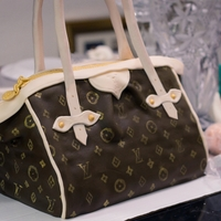 Louis Vuitton Purse Cake - Cake Outside The Box Louis Vuitton Purse Cake -