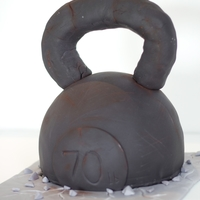 Crossfit Kettlebell Cake - Cake Outside The Box