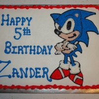 Sonic Cake   Sonic the Hedgehog
