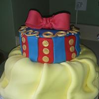 My Daughters 4Th Birthday Snow White Theme This Cake Gave Me A Hard Time My daughter's 4th birthday Snow white theme, this cake gave me a hard time!!!