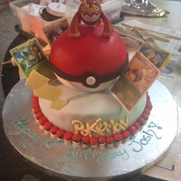 Pokemon Cake It was a Big hit for the little kids