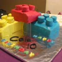Lego Cake Lego cake for a party held at the lego shop