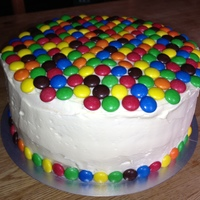 M&m Cake With Surprises Inside