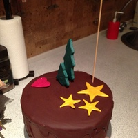 Christmasparty Cake
