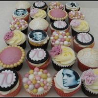 Vanilla Cupcakes To Match Birthday Cake Of Favourite Things Vanilla cupcakes to match birthday cake of favourite things