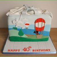 Radley Bag.....up, Up And Away   8 layers of chocolate cake & choc orange buttercream.