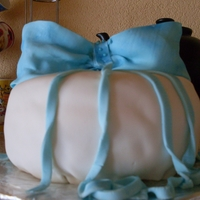 My First Fondant Zahrah?s B-Day Cake