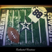 Dallas Cowboys Football Field Cake Dallas Cowboys Football Field Cake