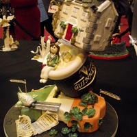 Cake International Birmingham 2012 This cake won 1st place Gold for Cake Rise at Cake International Birmingham 2012