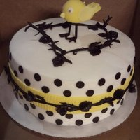 Chirp Chirp Birdie lover cake