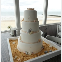 Beach Theme Wedding Cake Beach Theme Wedding Cake