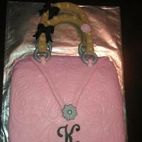 Purse Cake For Kelsie *Purse cake for kelsie