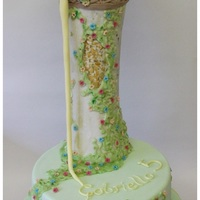 Tangled Tower Cake Tangled Tower Cake