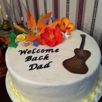 Welcome Home Cake gumpaste flowers