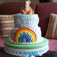 Tigger Cake I made this for a little boy turning one :)