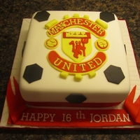 Man.utd Birthday Cake man.utd. birthday cake