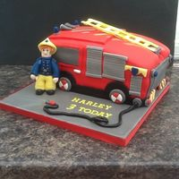 Fireman Sam And Fire Engine Fireman Sam , and fire engine