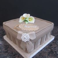 Gift Box Birthday Cake gift box birthday cake