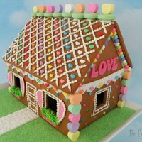 I Turned My Leftover Christmas Gingerbread House Into A Love Shack I turned my leftover Christmas gingerbread house into a LOVE SHACK!